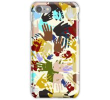 Diversity Handprints iPhone Case/Skin