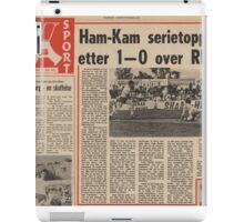 Ham-Kam serietopper iPad Case/Skin
