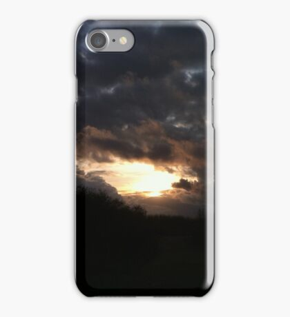 Silver linings iPhone Case/Skin
