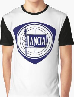 LANCIA BADGE Graphic T-Shirt