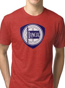 LANCIA BADGE Tri-blend T-Shirt