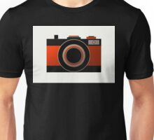 Old Camera - Metallic Geometric Art Unisex T-Shirt