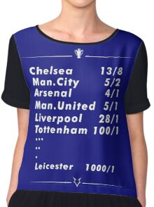 Against All Odds (Take a Look at Me Now) - Leicester Women's Chiffon Top