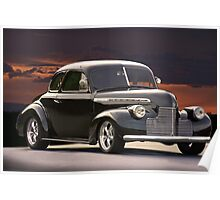 1940 Chevrolet Business Coupe Poster