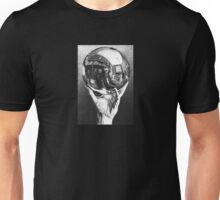 Hand with Reflecting Sphere - Escher  Unisex T-Shirt