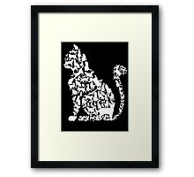 Cat in cats Framed Print
