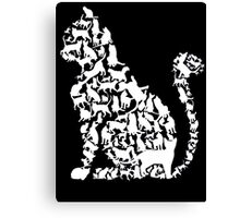 Cat in cats Canvas Print