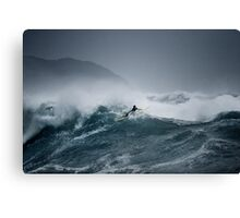 Pipeline Surfer 12 Canvas Print