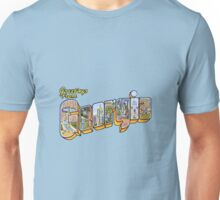 Greetings from Georgia Unisex T-Shirt