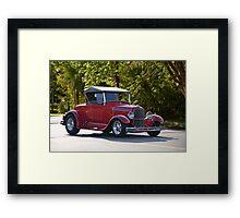 1929 Ford Model A Roadster Framed Print