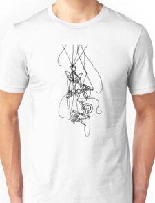 Puppet Descending - Line Art Only Unisex T-Shirt