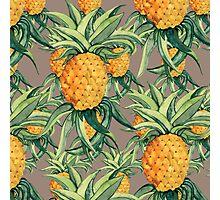 Pineapple Print Photographic Print