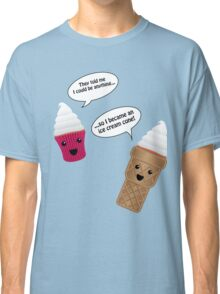 Ice Cream Cupcake Classic T-Shirt