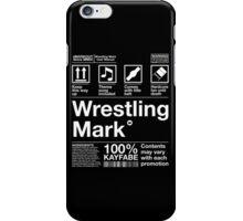Wrestling Mark Manual! iPhone Case/Skin