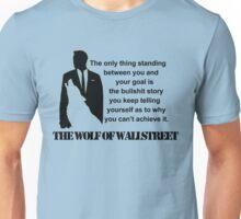 Leonardo Di Caprio - The wolf of Wallstreet Unisex T-Shirt