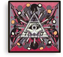 BORN TO CLIMB HIGHER 499 Canvas Print