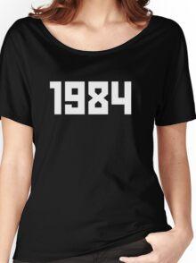 Gosha - S/S16 1984 Shirt (Black) Women's Relaxed Fit T-Shirt