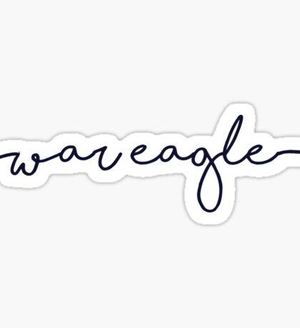 War Eagle Sticker Sticker