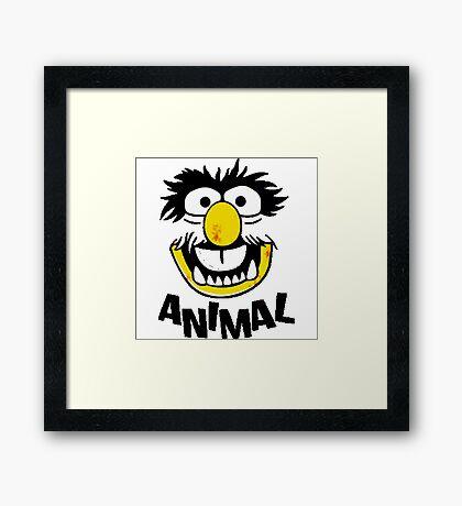 Animal Muppets Framed Print