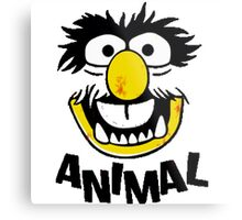 Animal Muppets Metal Print