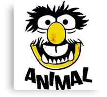 Animal Muppets Canvas Print