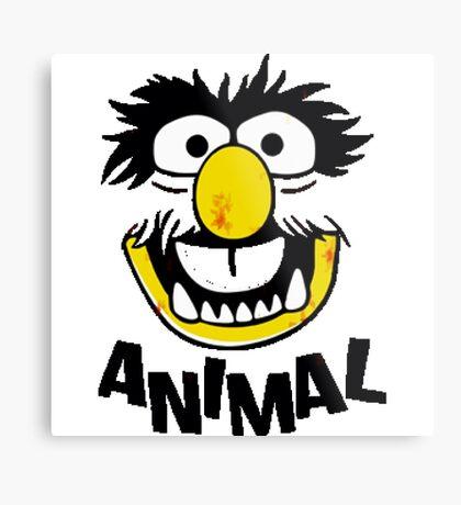 Animal Muppets Metal Print