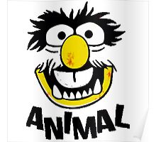 Animal Muppets Poster