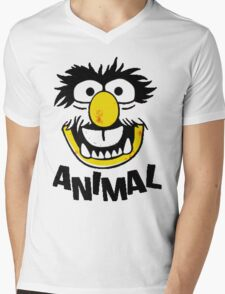 Animal Muppets Mens V-Neck T-Shirt