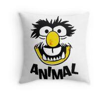 Animal Muppets Throw Pillow