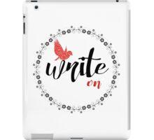 Write on! iPad Case/Skin