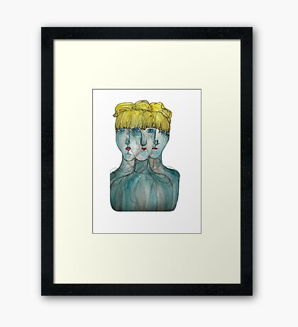 Ghosting Framed Print