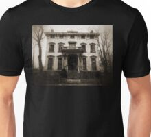Spooky Mansion Unisex T-Shirt