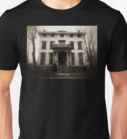 Spooky Mansion Unisex T-Shirt