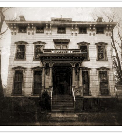 Spooky Mansion Sticker