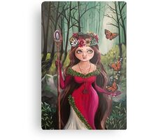 The Druid Girl Metal Print