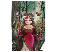 The Druid Girl Poster