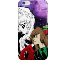 Galaxies and Trolls iPhone Case/Skin