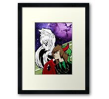 Galaxies and Trolls Framed Print