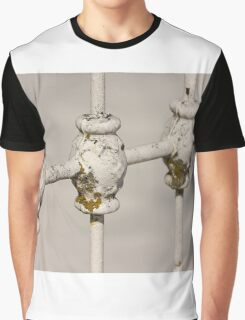 White Fence Graphic T-Shirt