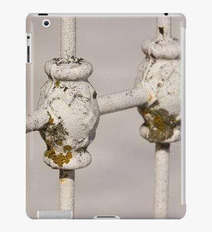 White Fence iPad Case/Skin