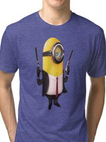 Minion Minions Hitman Tri-blend T-Shirt
