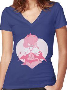 Succubus Women's Fitted V-Neck T-Shirt