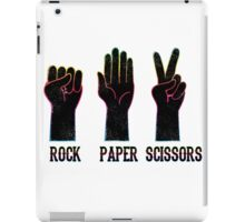 ROCK-PAPER-SCISSORS iPad Case/Skin