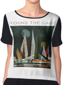 Young the Giant Chiffon Top