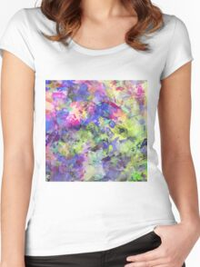 Garden Of Colour Women's Fitted Scoop T-Shirt