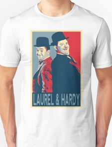 LAUREL AND HARDY, HOPE POSTER T-Shirt