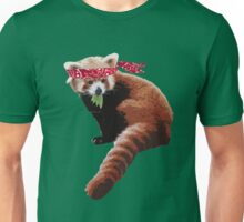 Karate Red Panda Unisex T-Shirt