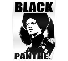 KATHLEEN CLEAVER-BLACK PANTHER Poster