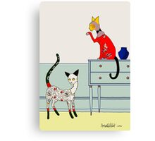 Fitzgerald and Elouise Canvas Print