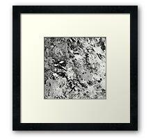 Warfare In Black And White Framed Print